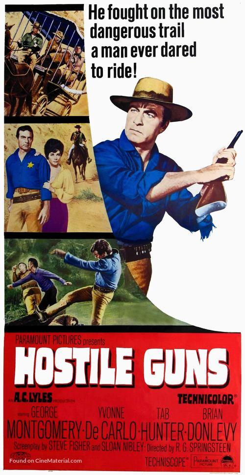 Hostile Guns - Movie Poster