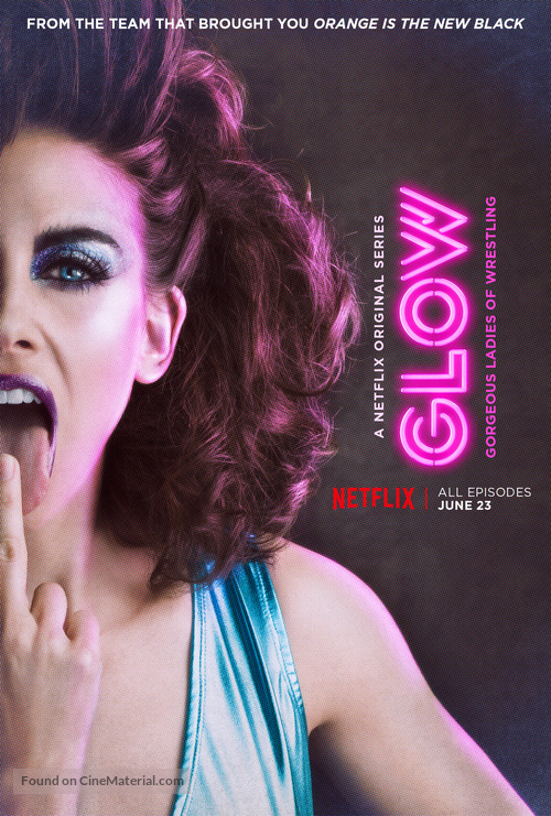 """GLOW"" - Movie Poster"