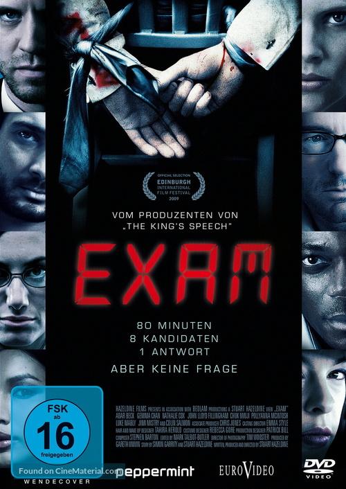 Exam - German DVD movie cover