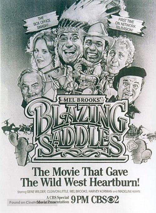 Blazing Saddles - poster