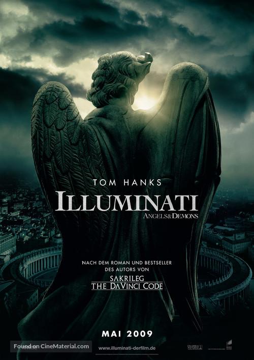 Angels & Demons - German Movie Poster