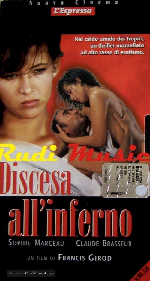 Descente aux enfers - Italian VHS cover