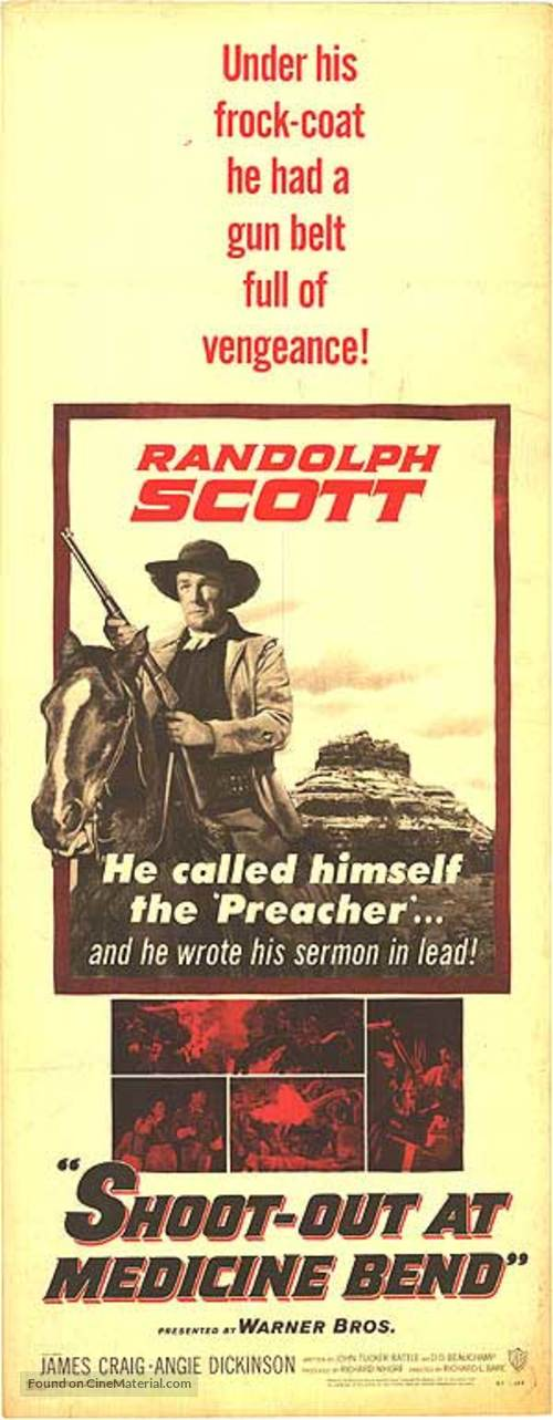 Shoot-Out at Medicine Bend - Movie Poster