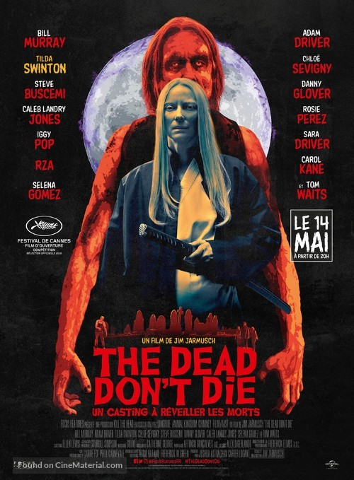 The Dead Don't Die - French Movie Poster