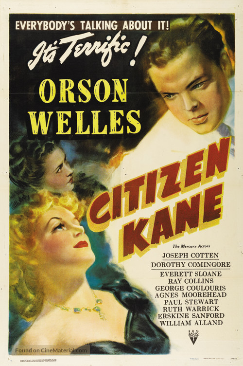 Citizen Kane - Movie Poster