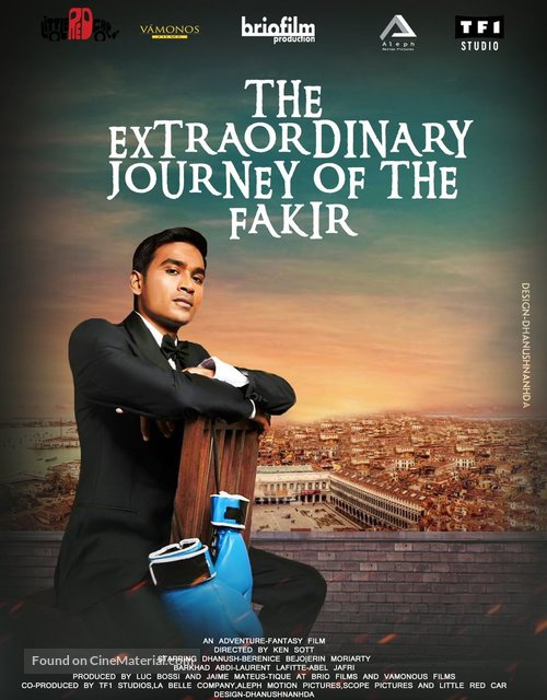The Extraordinary Journey of the Fakir - French Movie Poster