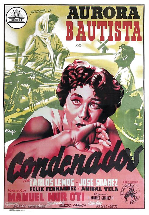 Condenados - Spanish Movie Poster
