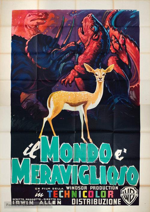 The Animal World - Italian Movie Poster