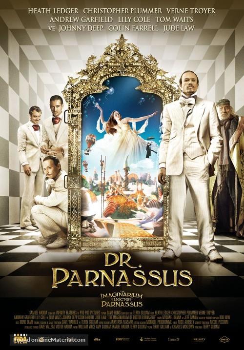 The Imaginarium of Doctor Parnassus - Turkish Movie Poster