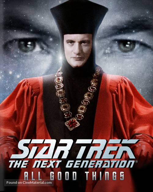 """Star Trek: The Next Generation"" - Blu-Ray cover"