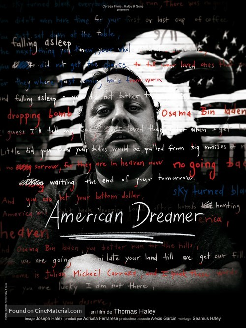 American Dreamer - French Movie Poster