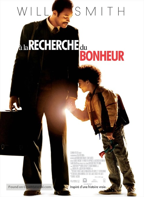 The Pursuit of Happyness - French Movie Poster