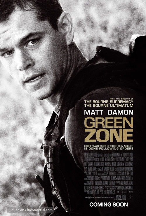 Green Zone - Movie Poster