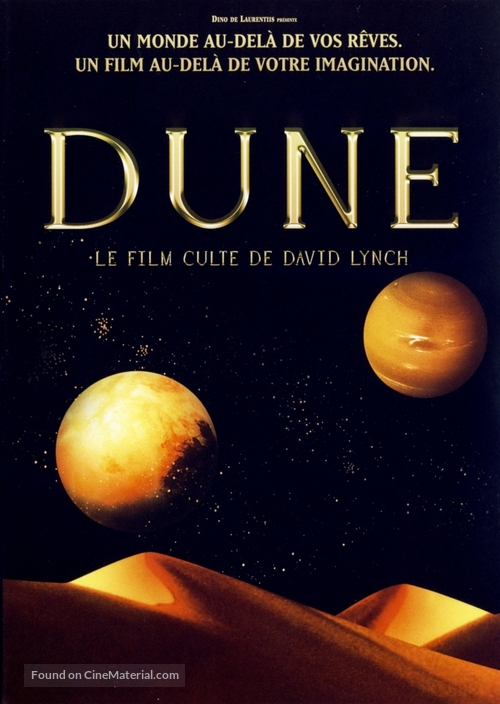 Dune - French DVD movie cover
