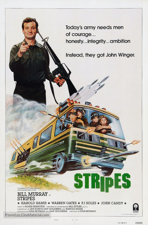 Stripes - Theatrical poster