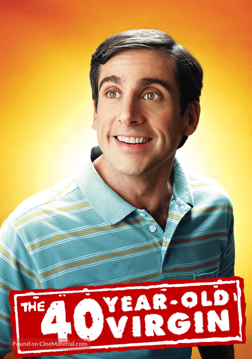 The 40 Year Old Virgin - DVD cover