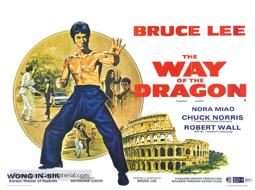 Meng long guo jiang - Movie Poster