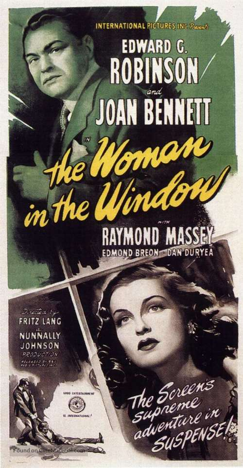 The Woman in the Window - Movie Poster
