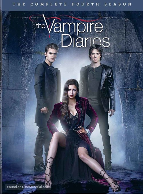 """The Vampire Diaries"" - DVD movie cover"