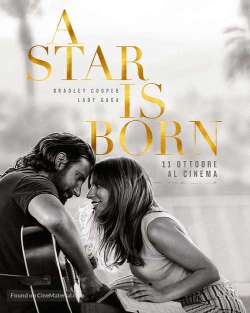 A Star Is Born - Italian Movie Poster
