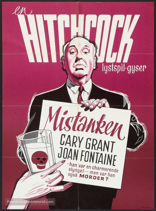 Suspicion - Danish Movie Poster