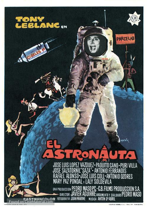 El astronauta - Spanish Movie Poster