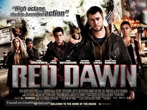 Red Dawn - British Movie Poster