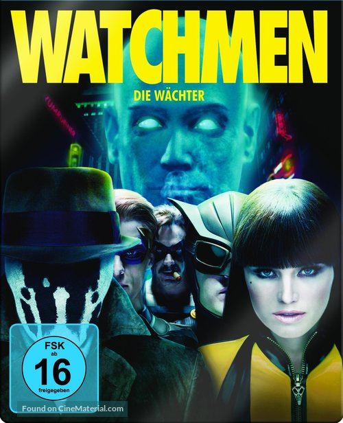 Watchmen - German Blu-Ray cover