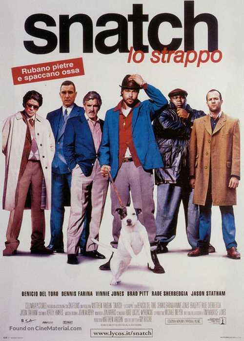 Snatch - Italian Movie Poster