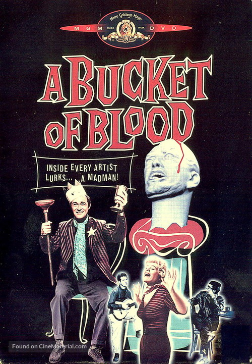 A Bucket of Blood - Movie Cover