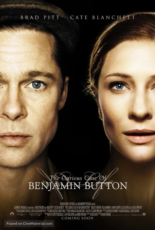 The Curious Case of Benjamin Button - Movie Poster