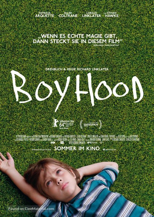 Boyhood - German Movie Poster