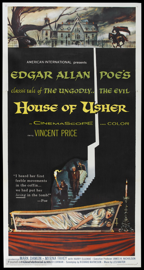 House of Usher - Movie Poster