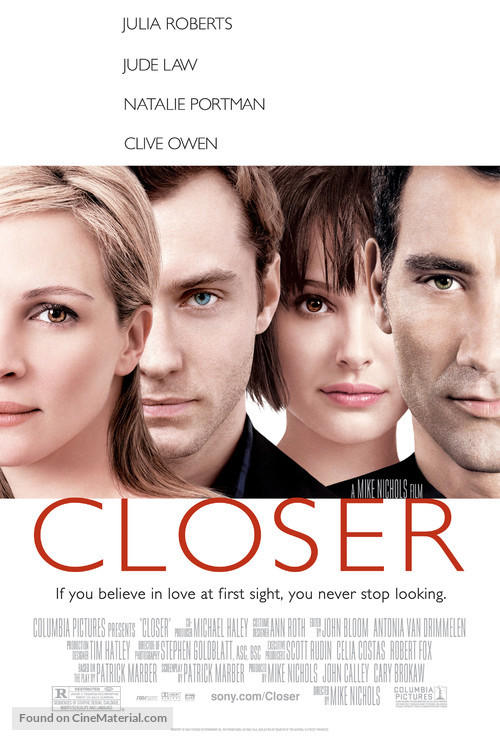 Closer - Movie Poster