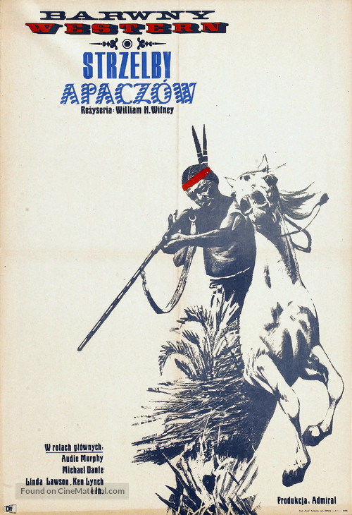 Apache Rifles - Polish Movie Poster