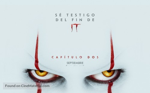 It: Chapter Two - Mexican Movie Poster