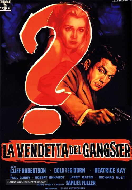 Underworld U.S.A. - Italian Movie Poster