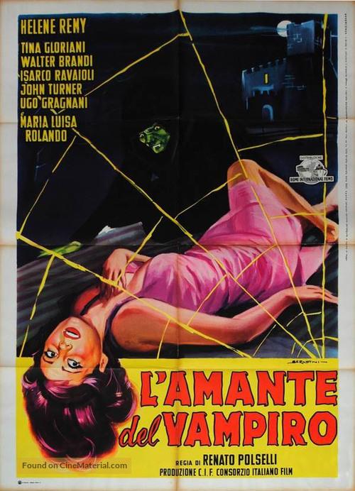 L'amante del vampiro - Italian Movie Poster