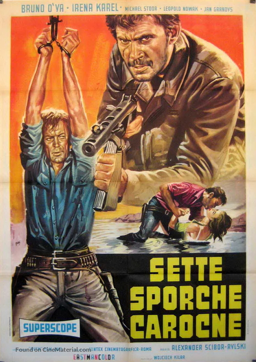 Wilcze echa - Italian Movie Poster