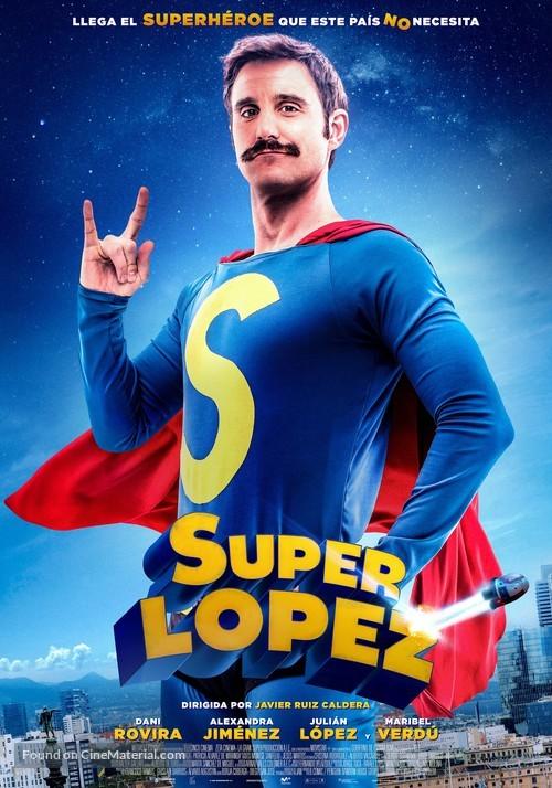 Superlópez - Spanish Movie Poster
