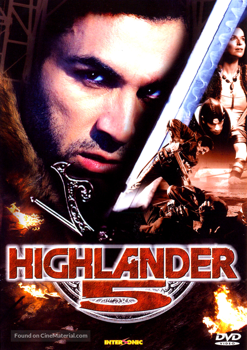 Highlander: The Source - Czech Movie Cover