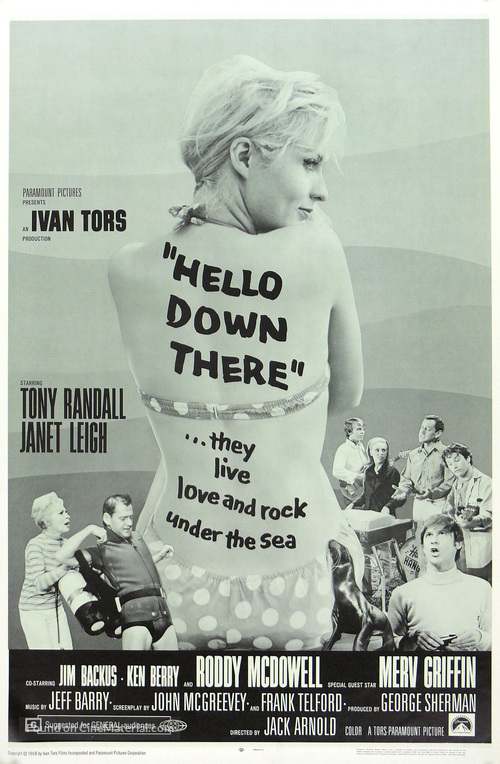 Image result for hello down there 1969
