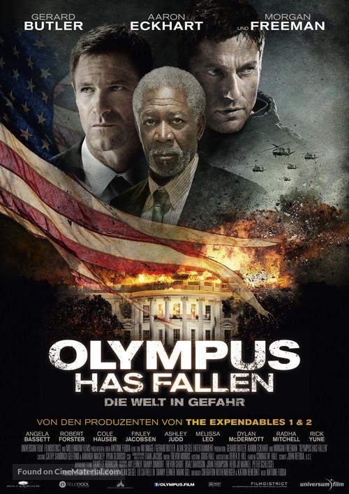 Olympus Has Fallen - German Movie Poster