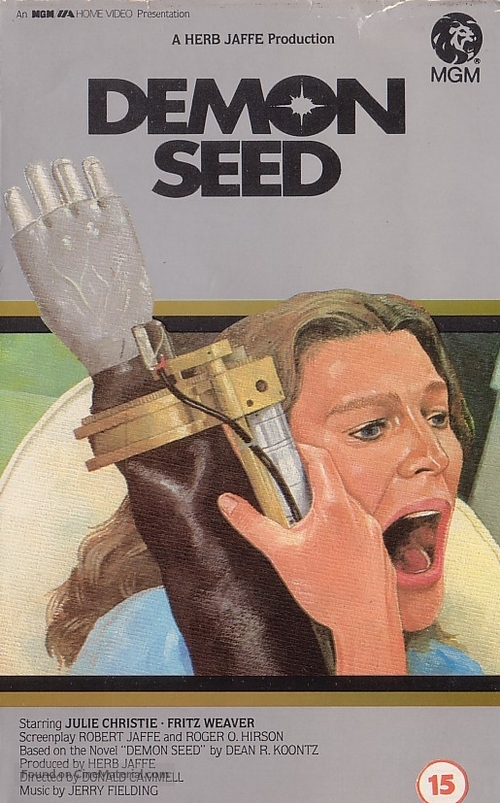 Demon Seed - British VHS cover