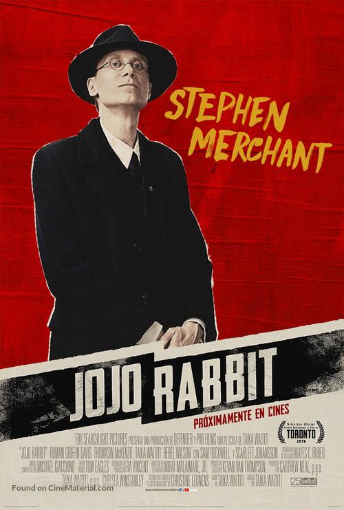 Jojo Rabbit Poster >> Jojo Rabbit 2019 Argentinian Movie Poster