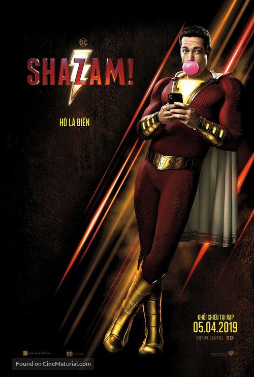 Shazam! - Vietnamese Movie Poster