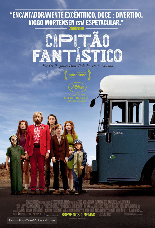 Captain Fantastic - Brazilian Movie Poster