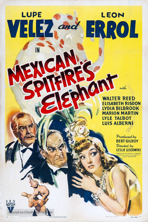 Mexican Spitfire's Elephant - Movie Poster