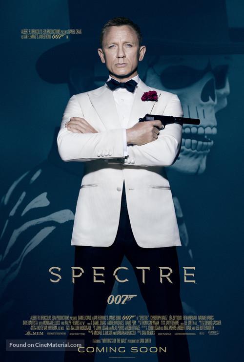 Spectre - British Movie Poster