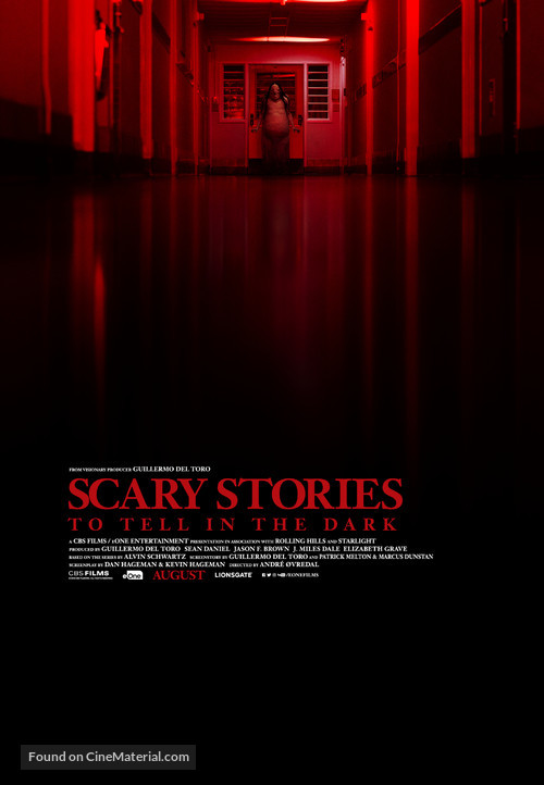 Scary Stories to Tell in the Dark - Canadian Movie Poster